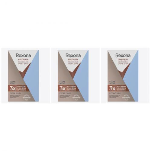 3 x Rexona Deocreme Maximum 45 ml
