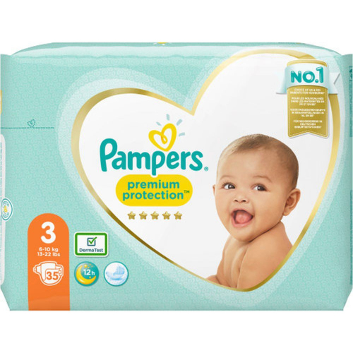 Pampers Premium Protect Gr.3 35 Stück