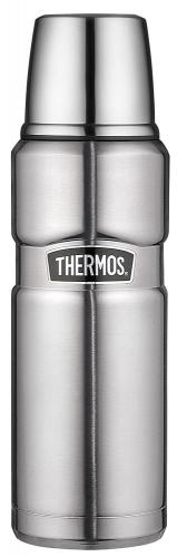 Thermos Isolierflasche Edelstahl Stainless King